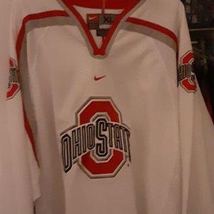 Nike ohio state hockey jersey